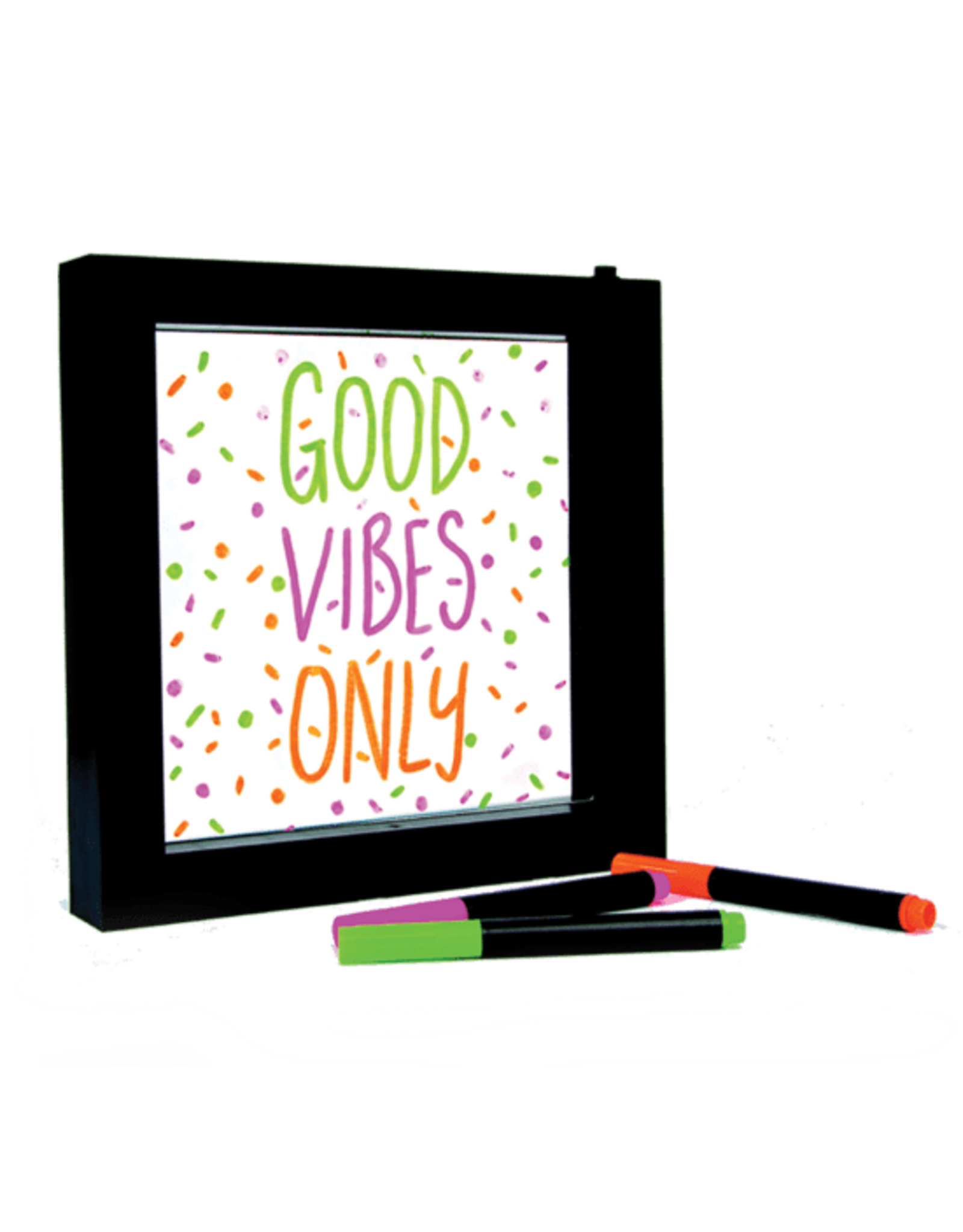 Iscream Light Up Neon Effect Message Frame