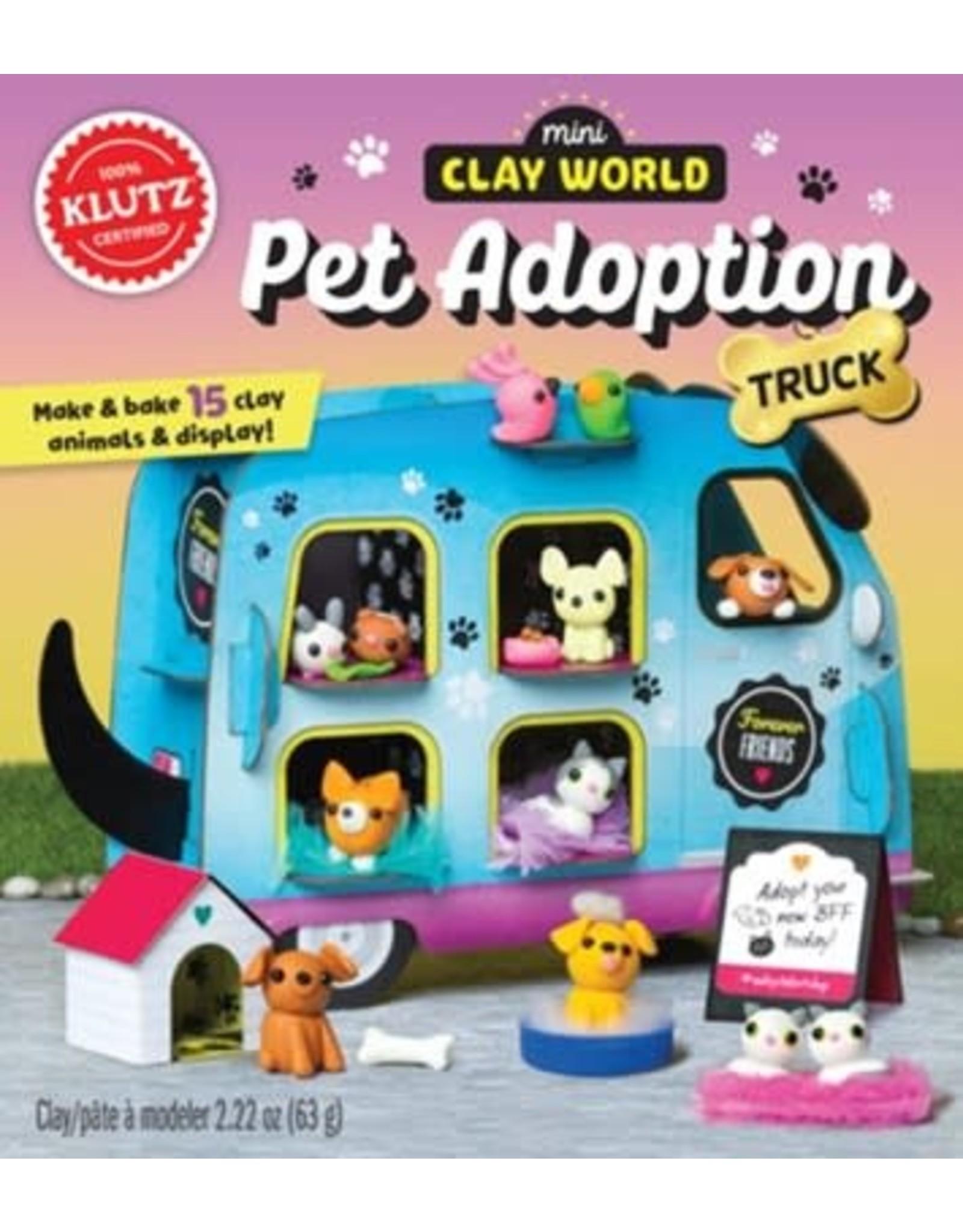 Klutz Klutz: Mini Clay World Pet Adoption Truck