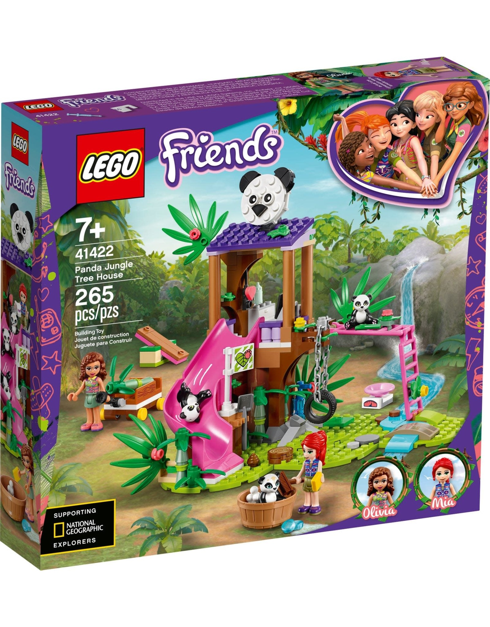 LEGO LEGO Friends, Panda Jungle Treehouse