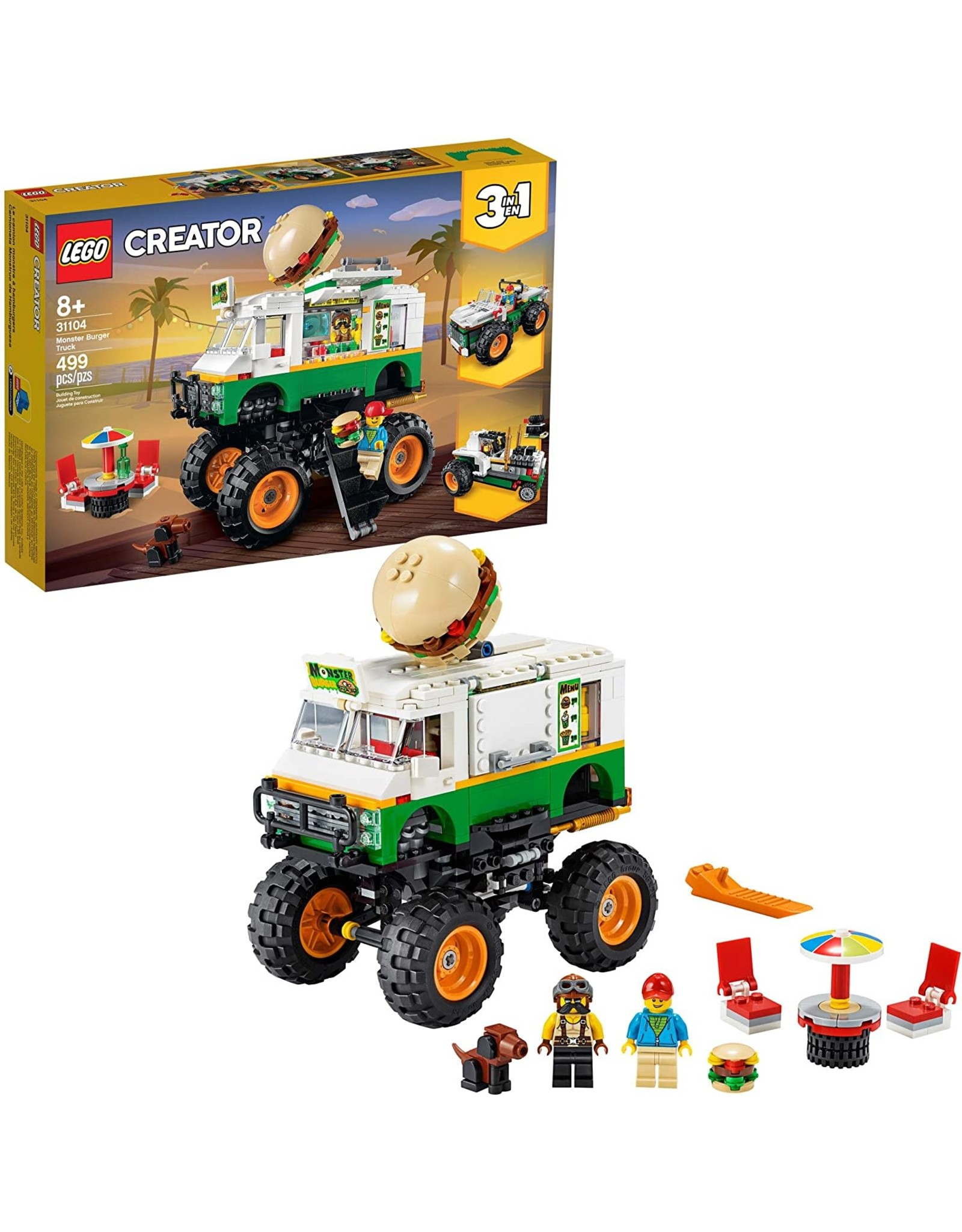 LEGO LEGO Creator, Monster Burger Truck
