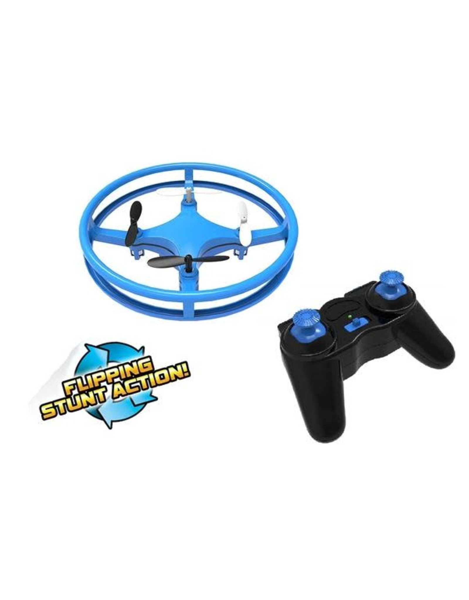 Mindscope Products Sky Lighter Glow Disc Drone, Blue