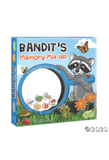 Peaceable Kingdom Bandit's Memory Mix it Up Game