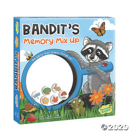 Peaceable Kingdom Bandit's Memory Mix it Up Game