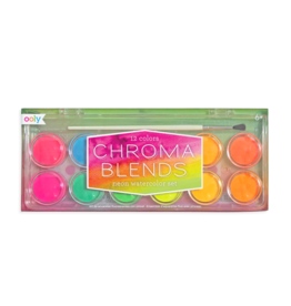 Ooly Chroma Blends Neon Watercolor Set