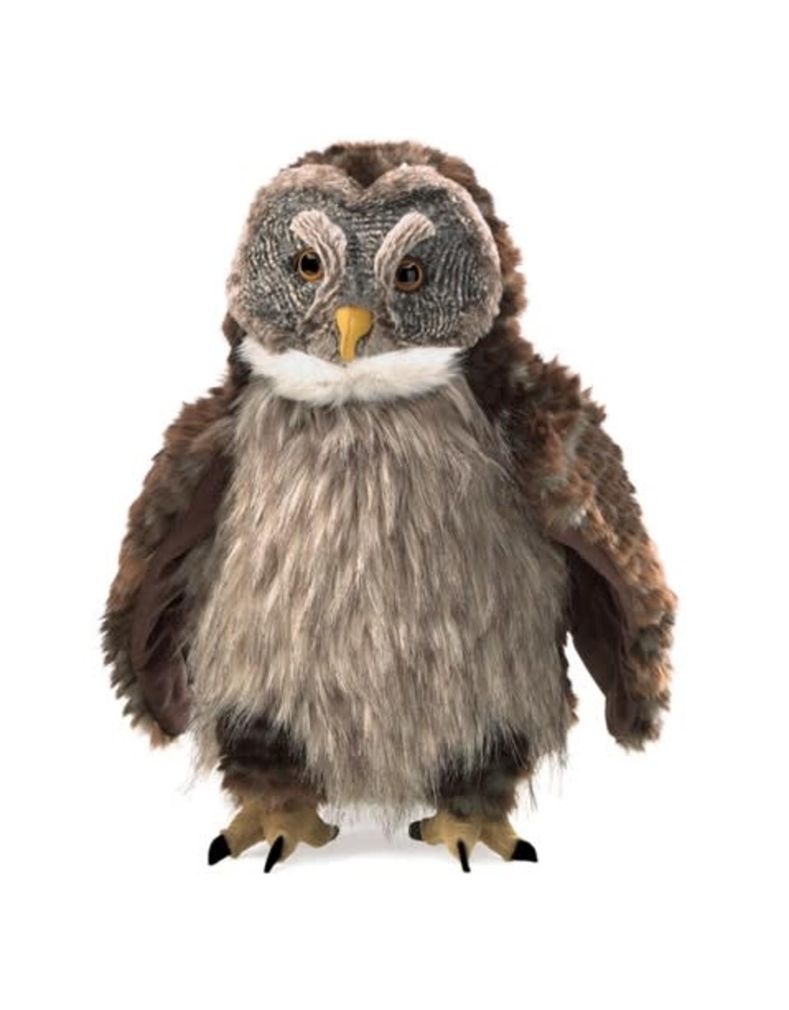 Folkmanis Hooting Owl Puppet