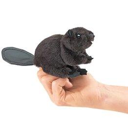 Folkmanis Mini Finger Puppet, Beaver