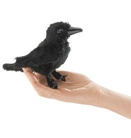 Folkmanis Mini Finger Puppet, Raven
