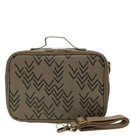 So Young Bento Lunch Box, Oliver Paper Chevron