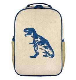 So Young Grade School Backpack, Blue Dino