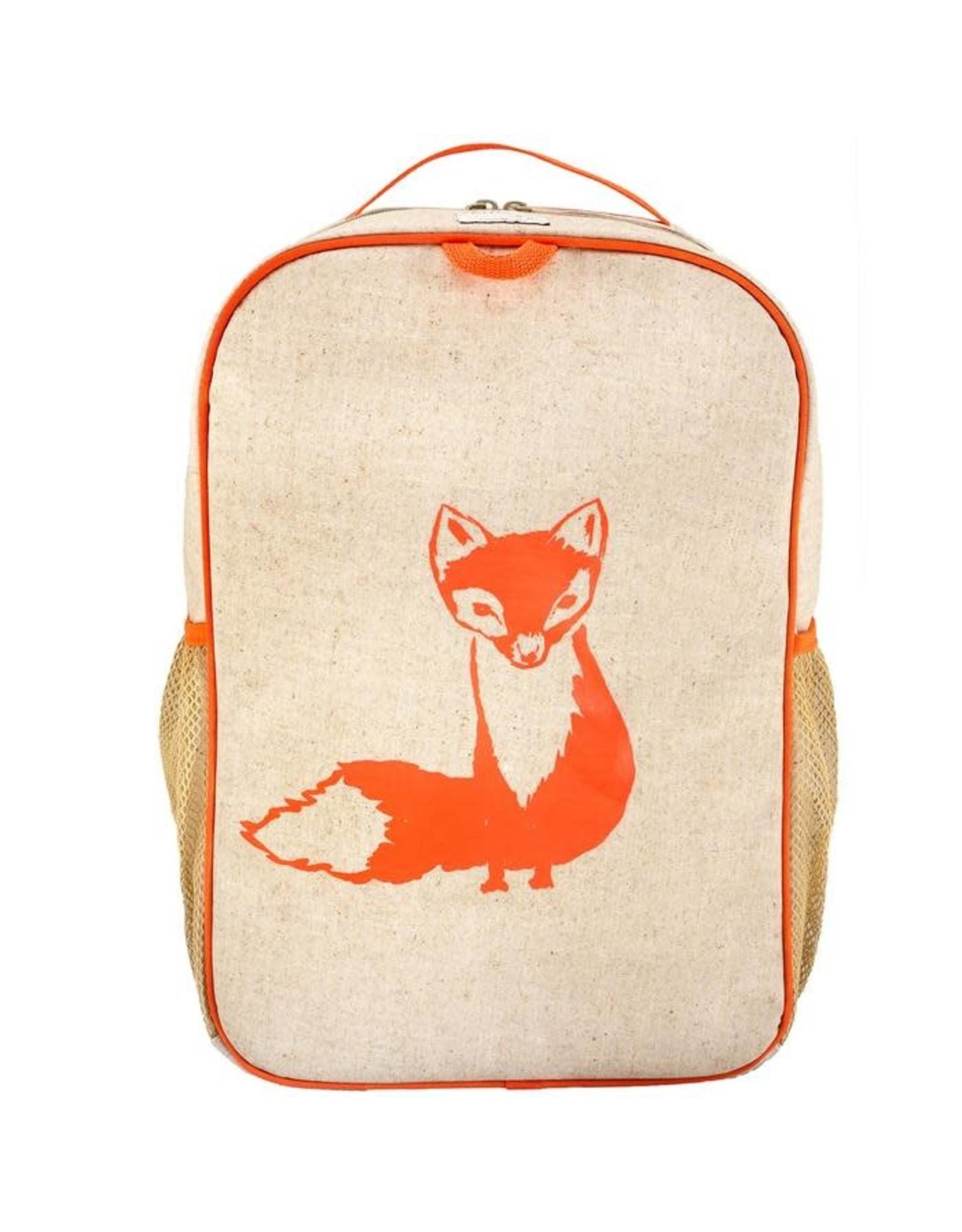 So Young Grade School Backpack, Orange Fox