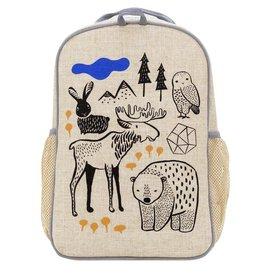 So Young Grade School Backpack, Wee Gallery Nordic