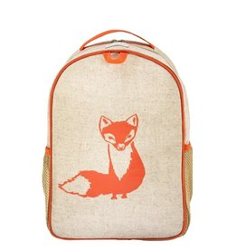 So Young Toddler Backpack, Orange Fox