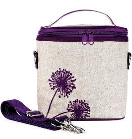 So Young Large Cooler Bag, Purple Dandelion