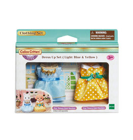 Calico Critters Calico Critters Dress Up Set, Light Blue & Yellow
