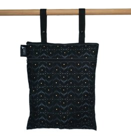 Colibri Double Duty Wet Bag, Midnight Flower
