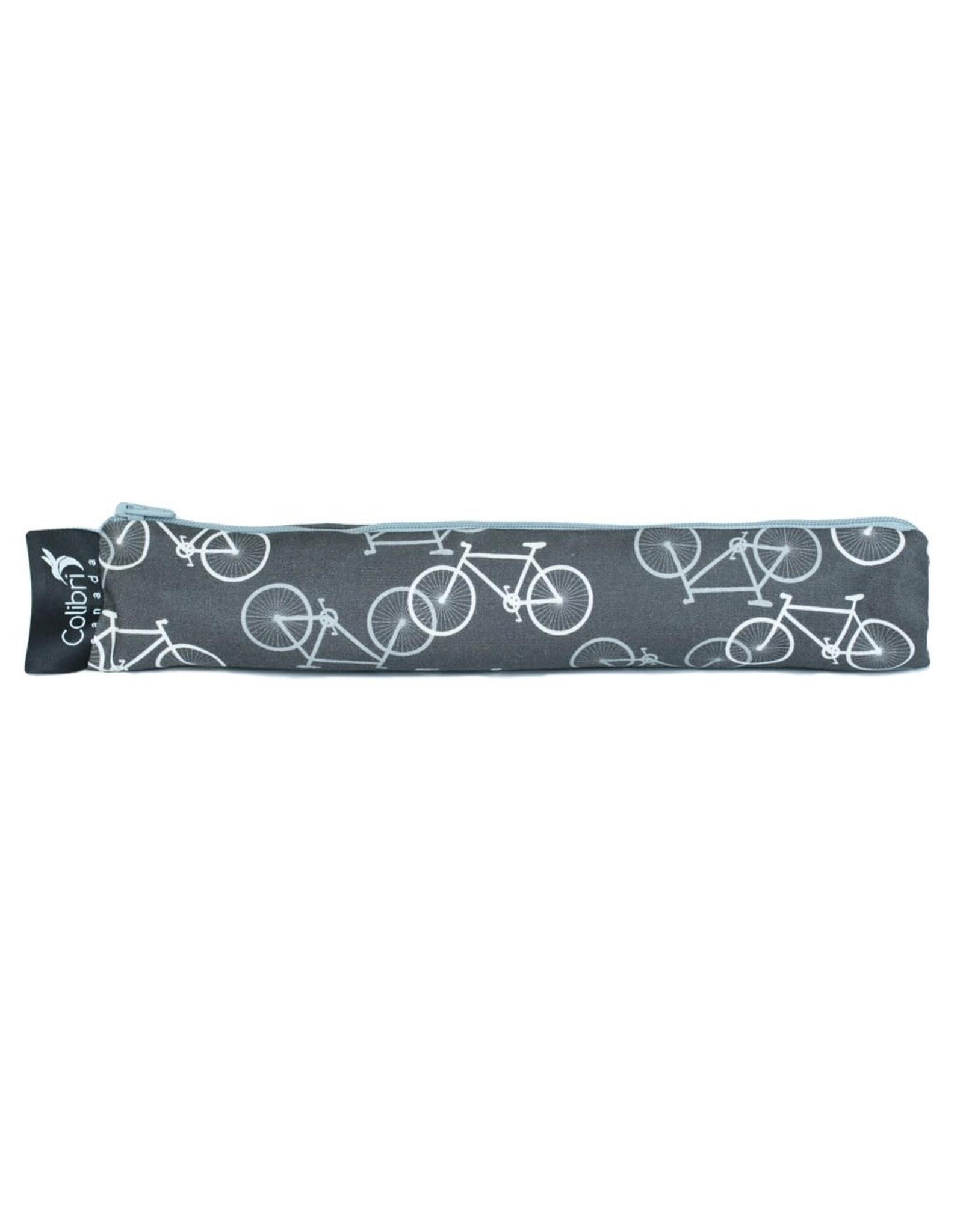 Colibri Reusable Snack Bag Wide, Bikes