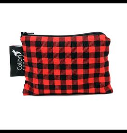 Colibri Reusable Snack Bag Small, Plaid