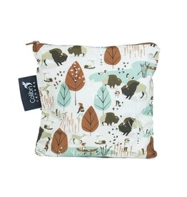 Colibri Reusable Snack Bag Large, Nature Walk