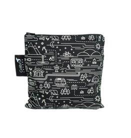 Colibri Reusable Snack Bag Large, Adventure