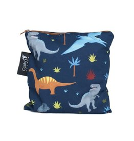 Colibri Reusable Snack Bag Large, Dinosaurs