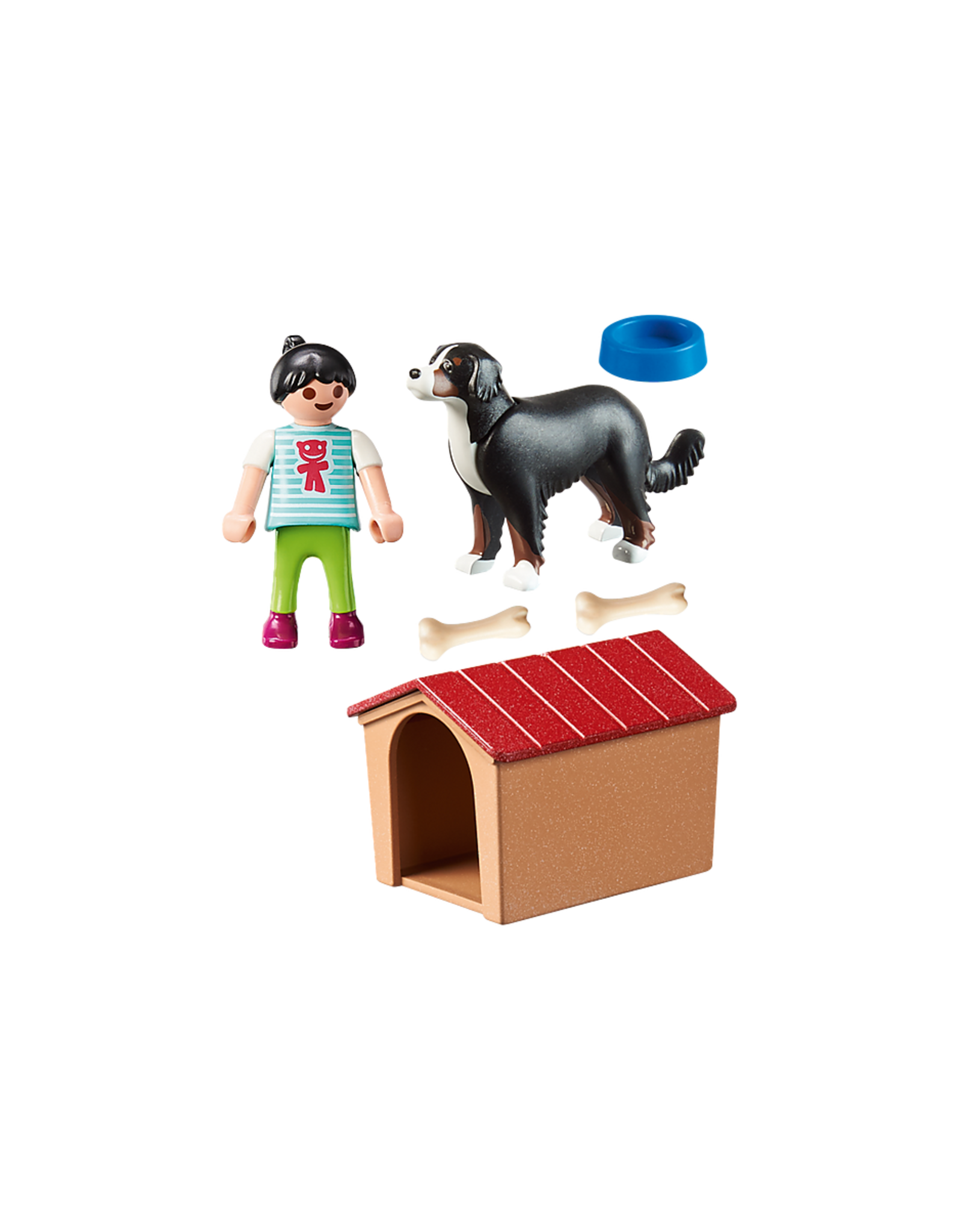 Playmobil Dog with Doghouse