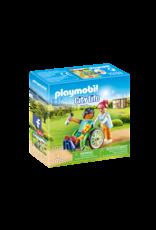 Playmobil Patient in Wheelchair
