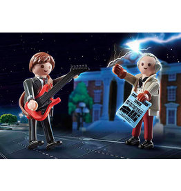 Playmobil Back to the Future, Marty McFly and Doc Brown