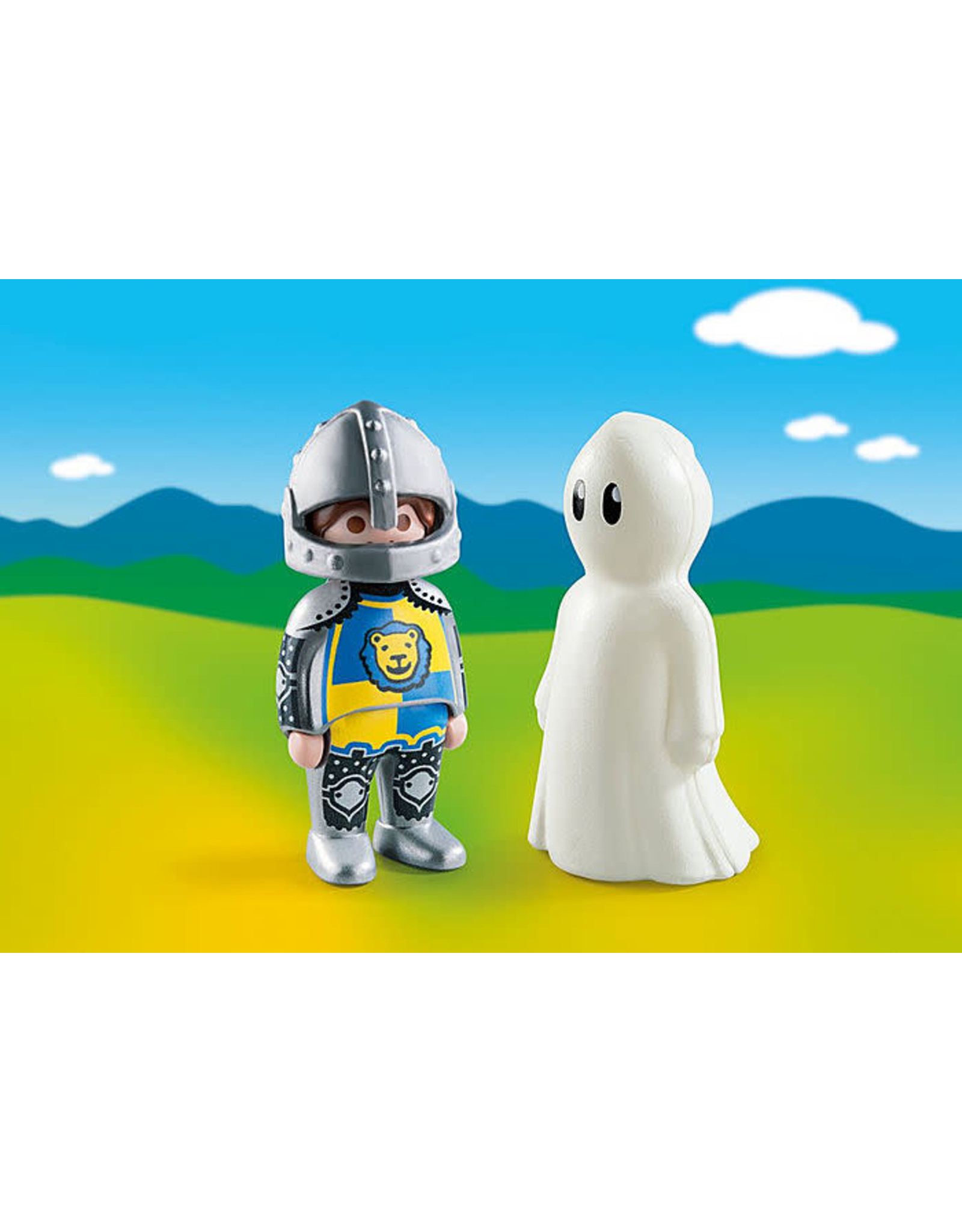 Playmobil 1.2.3 Knight with Ghost