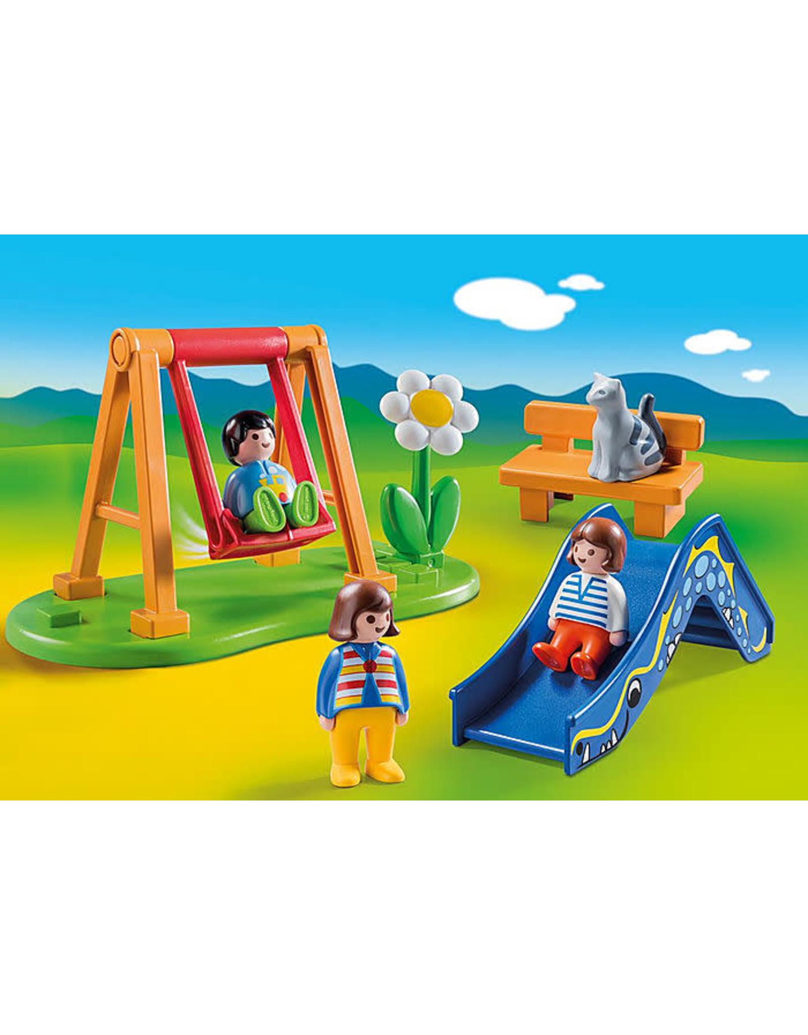 Playmobil 1.2.3 Children's Playground