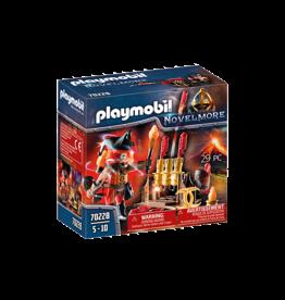 Playmobil Burnham Raiders Fire Master