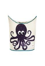 3 Sprouts Laundry Hamper, Purple Octopus