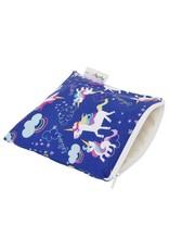 Itzy Ritzy Reusable Snack Bag, Unicorn Dreams
