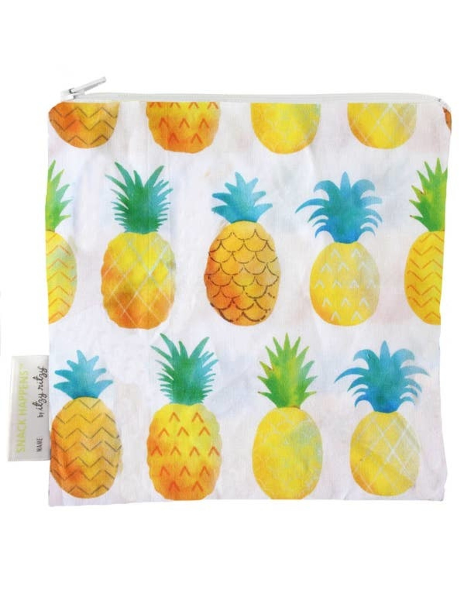 Itzy Ritzy Reusable Snack Bag, Pineapple