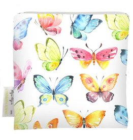 Itzy Ritzy Reusable Snack Bag, Beautiful Butterflies
