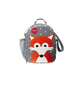 3 Sprouts Lunch Bag, Gray Fox