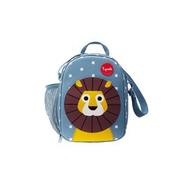 3 Sprouts Lunch Bag, Blue Lion