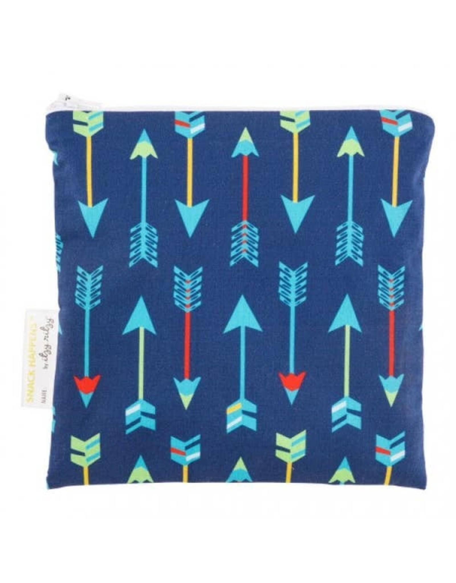 Itzy Ritzy Reusable Snack Bag, Bold Arrow