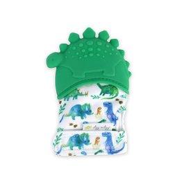 Itzy Ritzy Teething Mitt, Dinosaur