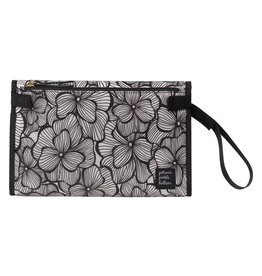 Petunia Pickle Bottom Nimble Changer Clutch, Bordeaux Blooms
