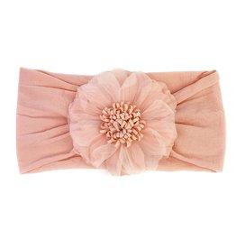 Baby Wisp Baby Wisp Flower Headband, Dusty Rose