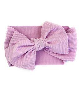Baby Wisp Baby Wisp Giant Lana Bow Headband, Lavender