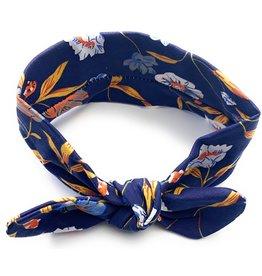 Baby Wisp Baby Wisp Top Knot Headband, Blue Paradise