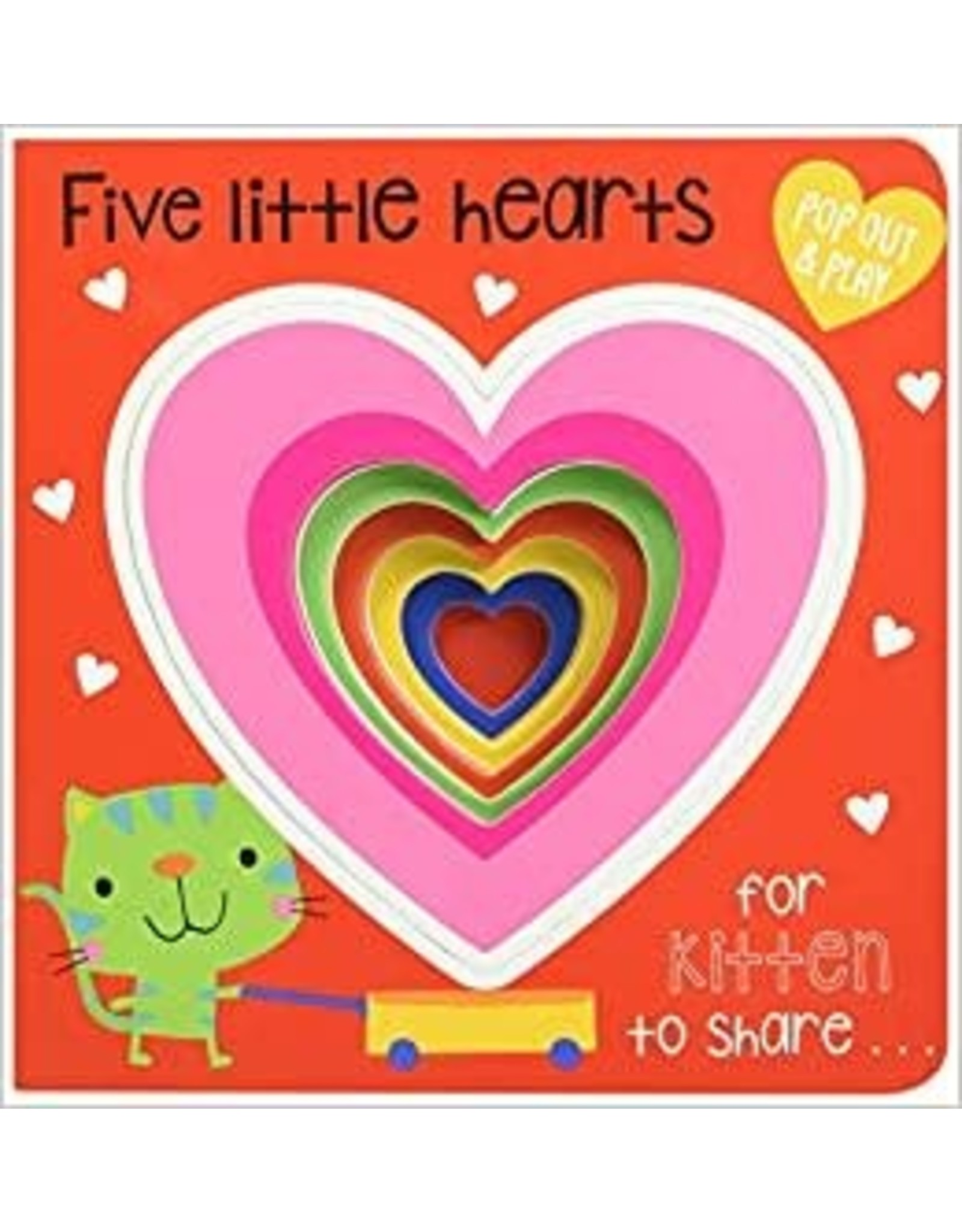 Five Little Hearts Book