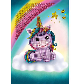 Outset Media Crystal Art, Unicorn Smile