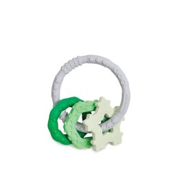 Bumkins Silicone Teething Charms, Green