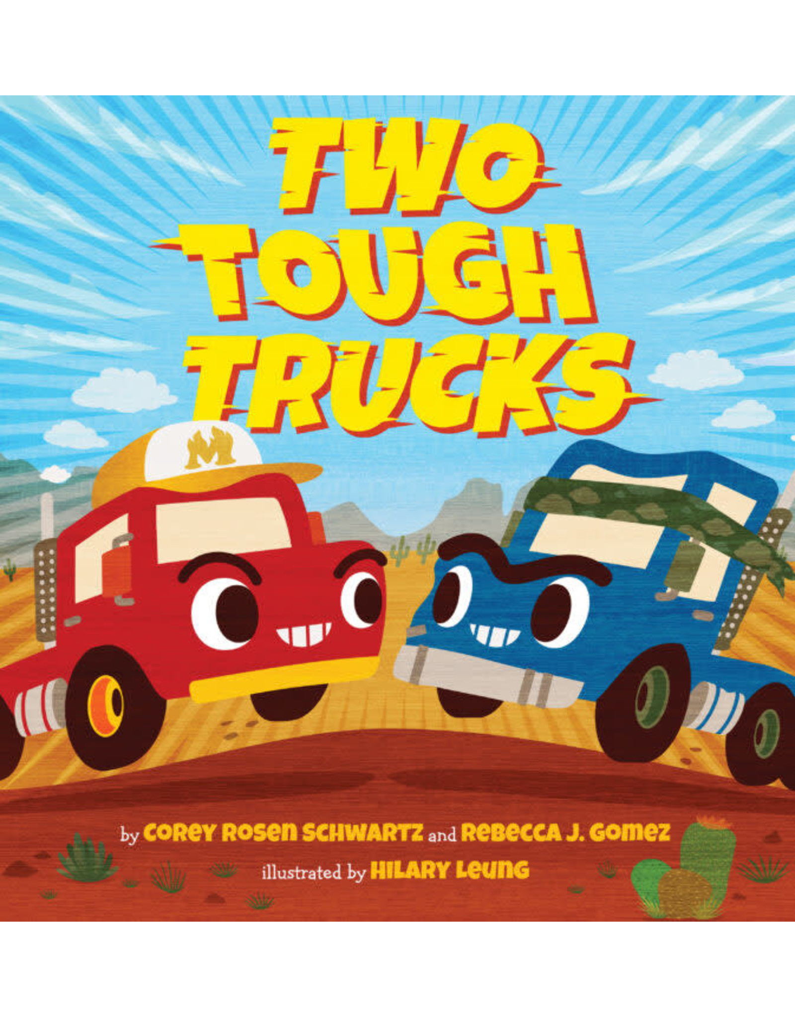 Scholastic Canada Two Tough Trucks (HC)