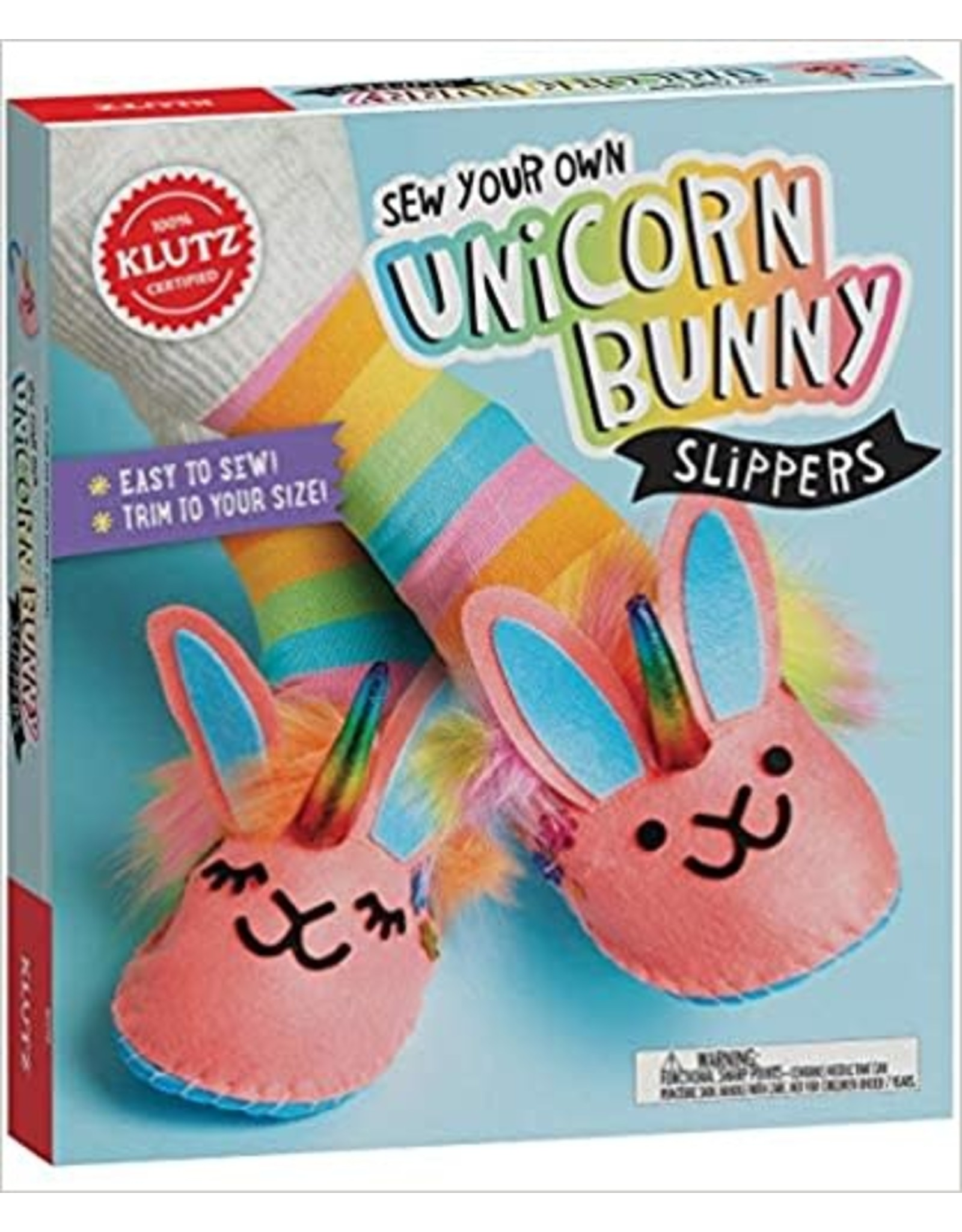 Klutz Klutz: Sew Your Own Unicorn Bunny Slippers