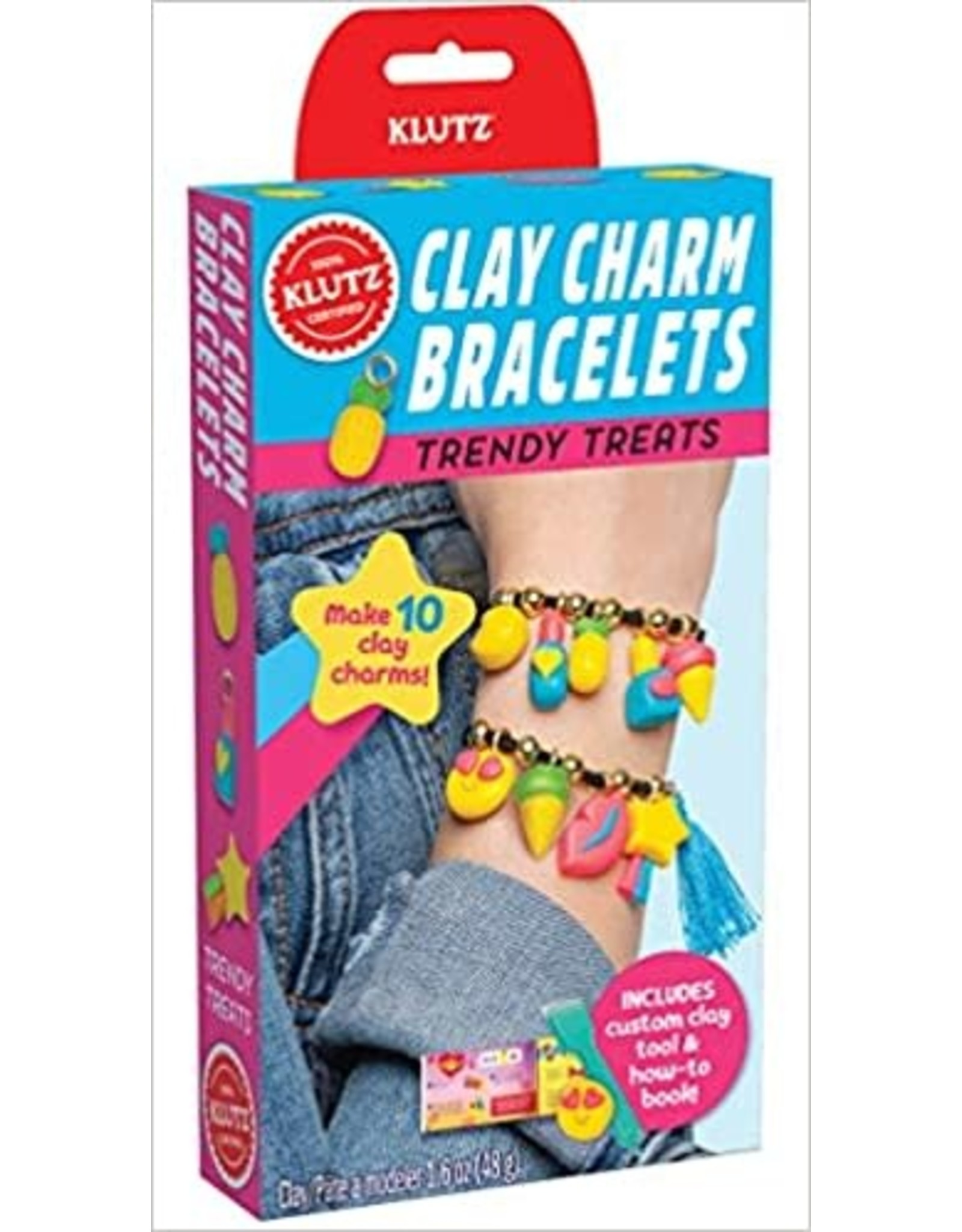 Klutz Klutz: Clay Charm Bracelets Trendy Treats