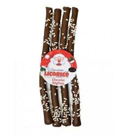 anDea Chocolates Christmas Chocolate Licorice, 4 pc