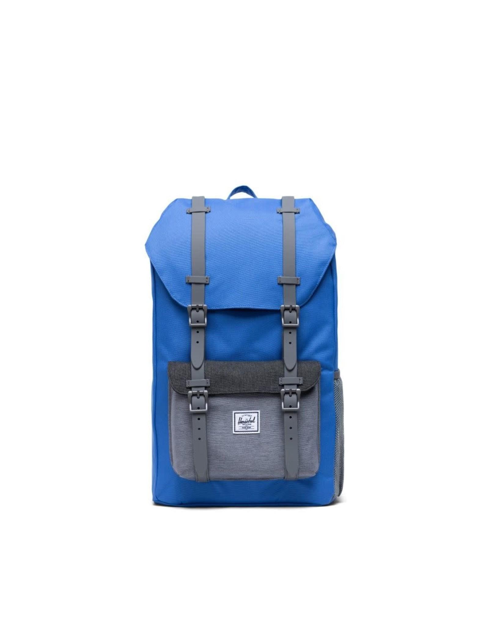 Herschel Supply Herschel Little America Youth Backpack, Amparo Blue/Grey